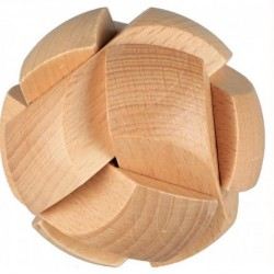 Fa gömb alakú kirakó játék