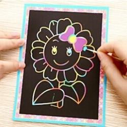 Kaparós színes kifestő lapok - 20 lapos