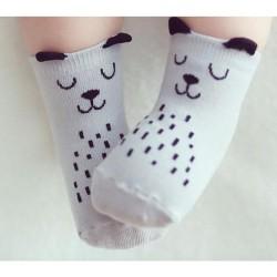 Baba fiú és lány állatos zokni