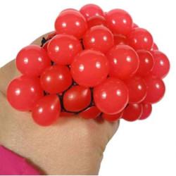 Szőlő stresszlabda - nyomós gyerekjáték