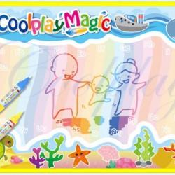 Vizes rajztábla gyerekeknek tengeri témájú