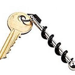 Dugóhúzós kulcstartó