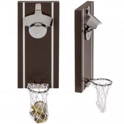 Mágneses hátoldalú kosárlabda sörnyitó