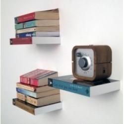 Lebegő könyvespolc - konzol