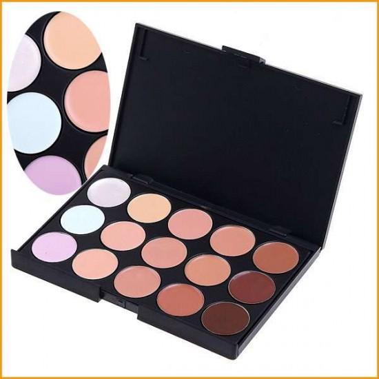 15 színű korrektor paletta
