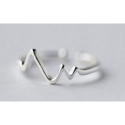 EKG állítható méretű gyűrű