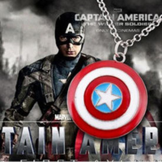 Amerika Kapitány pajzsa nyaklánc