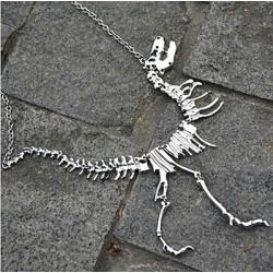 Tyrannosaurus Rex csontváz nyaklánc
