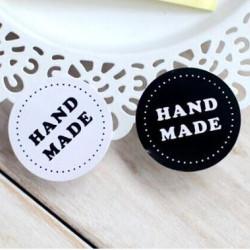 Hand made matrica - fekete-fehér