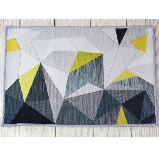 Geometriai mintás szőnyeg - 50 x 80 cm