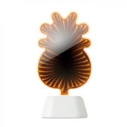 Ananász alakú tükrös dekorációs lámpa