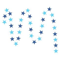 Karton csillag girland