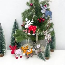 Rénszarvas karácsonyi dísz készlet 5 db