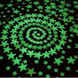 Világító csillagok 100 db - több színben