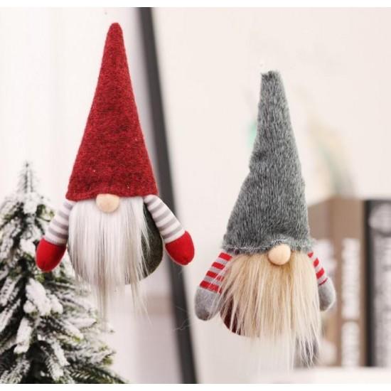 Függeszthető Mikulás vagy karácsonyi manó 2 db