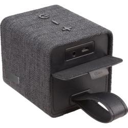 Szövet borítású hordozható bluetooth hangszóró