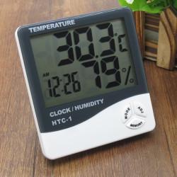 Digitális páratartalom és hőmérő