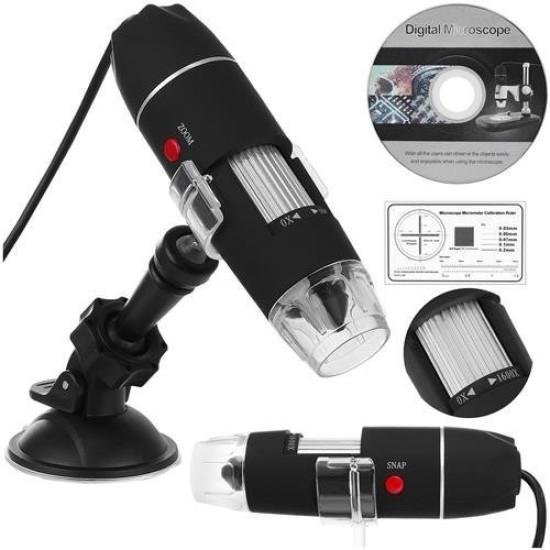 Digitális mikroszkóp 1600 X nagyítás