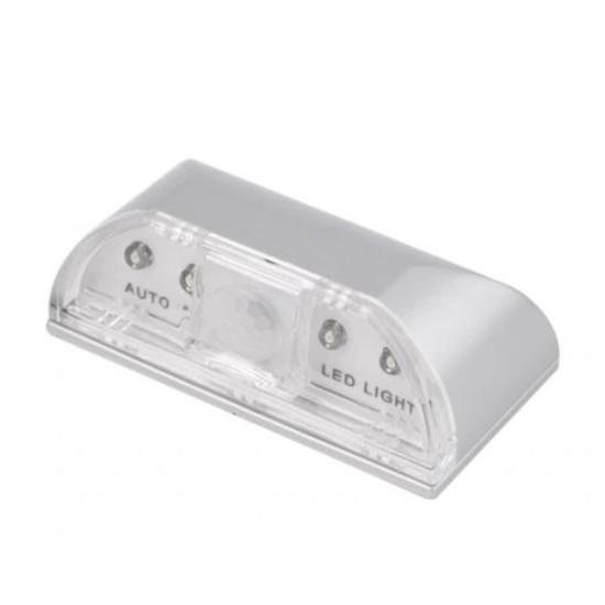 Kulcslyuk világító led lámpa mozgásérzékelővel