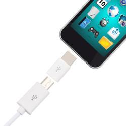 Micro USB - Type-C csatlakozó átalakító 2 db