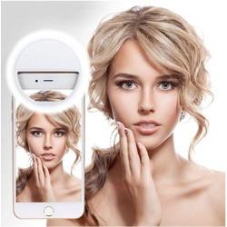 Selfie gyűrű - vaku lámpa telefonra