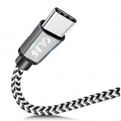 Fonott USB - Type-C típusú töltő kábel