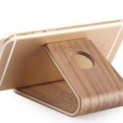 Bambusz asztali telefon tartó