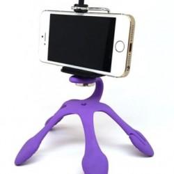 Gekkó telefonos fotóállvány flexi lábakkal