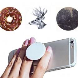 Kihúzható telefon tartó gomb