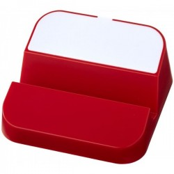 Asztali piros telefon tartó USB elosztóval