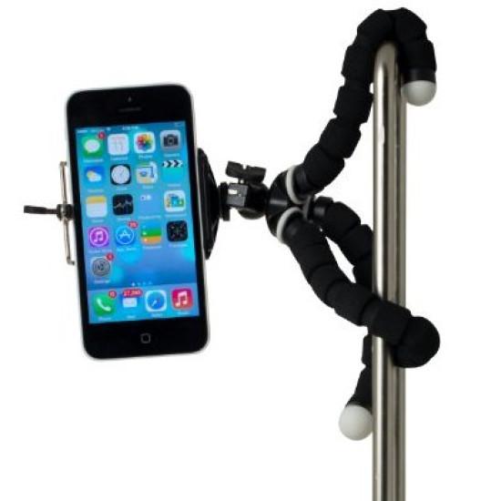 Telefonos fotóállvány flexi lábakkal