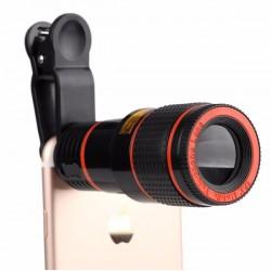 Teleobjektív telefonra 8X