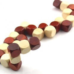 Fakocka - fakígyó logikai építőjáték