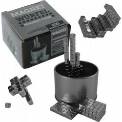 Mágneses kocka építő játék - 5 mm