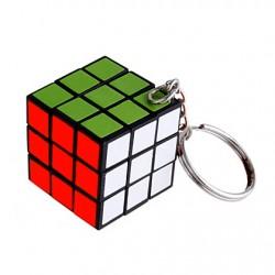 Rubik kocka kulcstartó