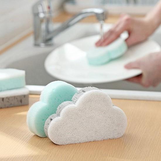 Felhő alakú mosogatószivacs - 2 db