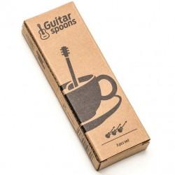 Gitár kávés vagy teás kanál készlet