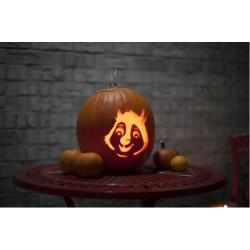 Halloween tök faragó készlet 5 db-os