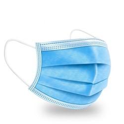 Három rétegű eldobható sebészi maszk, felnőtt méret (10 / 50 db)
