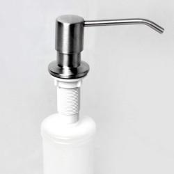 Beépíthető fém nyomófejes mosogatószer adagoló