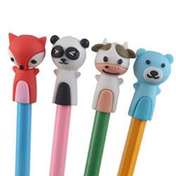 Állatos ceruzavég - 4 db