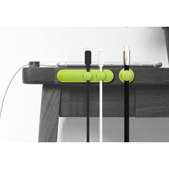 Mágneses kábel rendszerező készlet