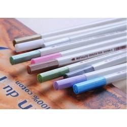 Metál filctoll készlet 10 színű ecsetheggyel