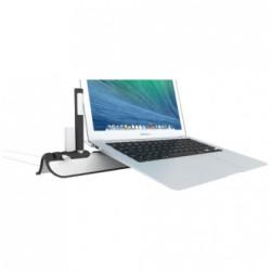 Laptop emelő, hűtő állvány rendszerezővel