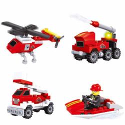 Járműves építőjátékok - többféle