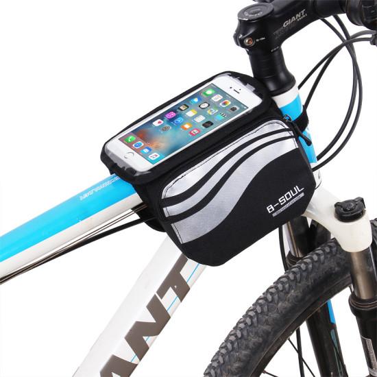 Bicikli táska - vázra tehető