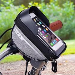 Telefontartós kerékpár táska