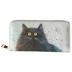 Őrült macskás hosszú pénztárca