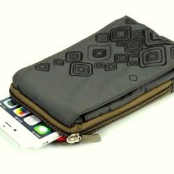 Telefon tartó táska - tárca