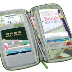 Utazó tárca - útlevél tartó